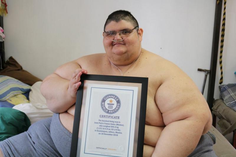 om obez care încearcă să slăbească