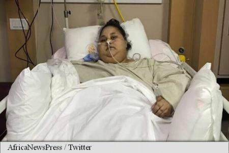 cea mai grea femeie din scăderea în greutate din lume)