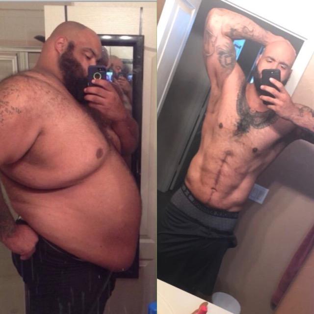 om obez care încearcă să slăbească revenind pentru pierderea în greutate cât timp