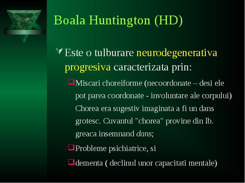 Huntington | eUniversitate Boli Rare