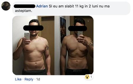 Un bărbat în vârstă de 50 de ani nu poate slăbi)