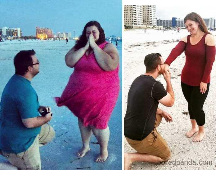 Pierdere în greutate de 82 kg)