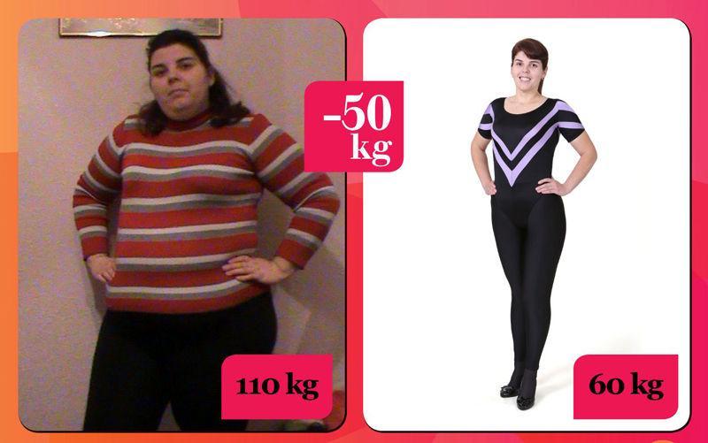 slăbește de la 60 kg la 50 kg