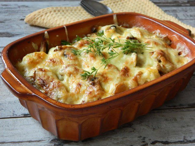 Lasagna este o calorie clasică. Lasagna de vinete