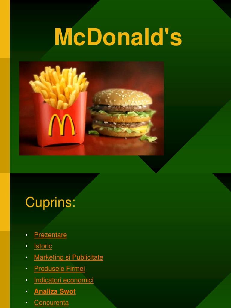 scăderea în greutate a mcdonalds)