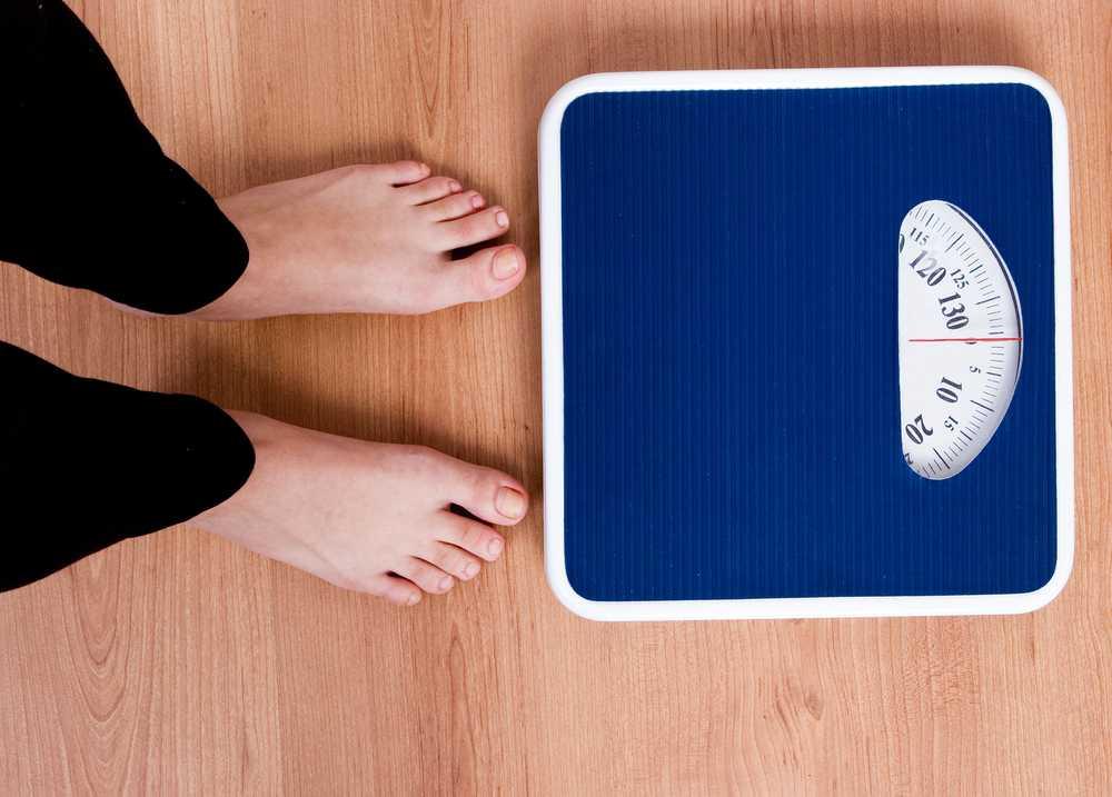 fluctuații ale scării pierderilor în greutate)