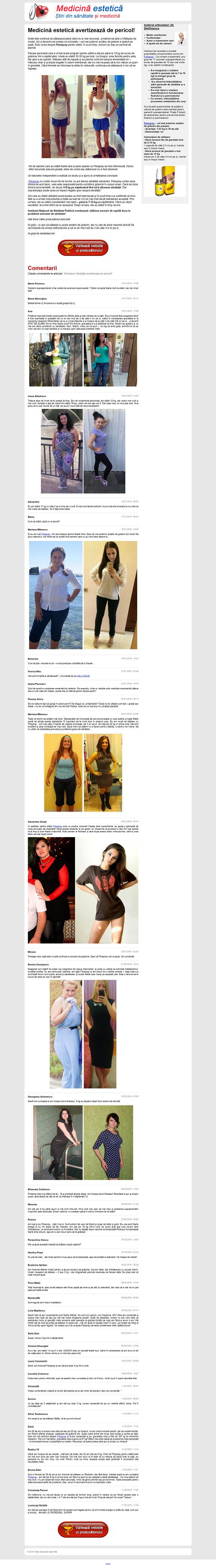 nu rezultă pierderea în greutate