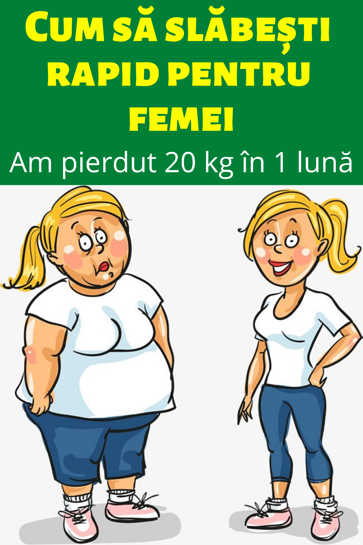 Pierdere în greutate de 1 kg în 1 lună)