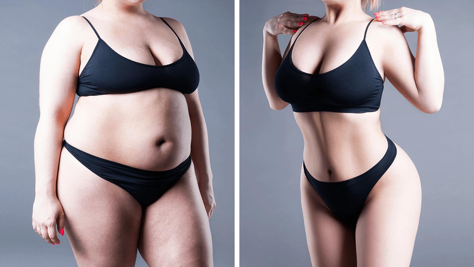 scădere în greutate într-un an