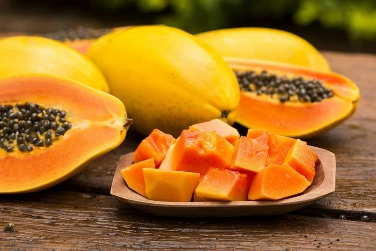 Papaya ajuta pierde in greutate, dacă